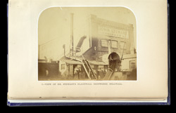 View Of Mr. Stewart's Blackwall Ironworks, Millwall part B0